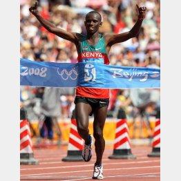 北京五輪で金メダルのワンジルは2時間6分32秒