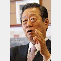 「安倍内閣の本質を見極めるべき」と小沢氏(C)日刊ゲンダイ