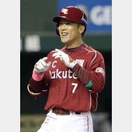 通算400二塁打をマークした松井稼頭央