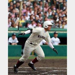 九州国際大付戦で第2号本塁打を放った清宮