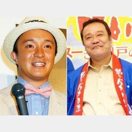 濱田岳(左)と初代・ハマちゃんの西田敏行