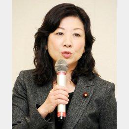 出馬を断念した野田聖子前総務会長