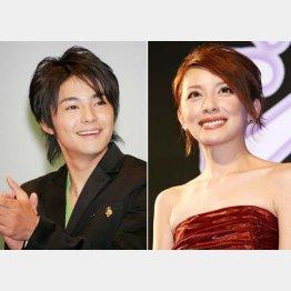奥菜恵(右)と木村了