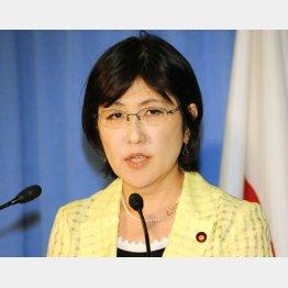 留任になった自民党の稲田朋美政調会長
