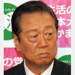 2日に談話を発表した小沢一郎氏