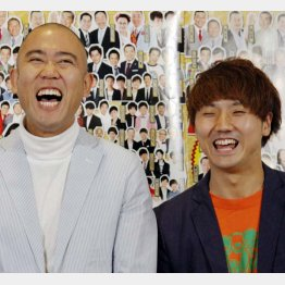 ナダル(左)と西野創人/(C)日刊ゲンダイ