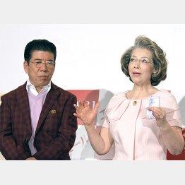 駆け落ちエピソードを語る西川きよし&ヘレン夫妻