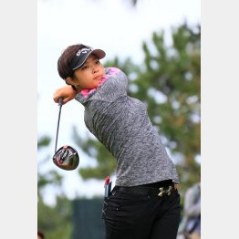 日本女子オープンで優勝争いを演じた柏原明日架は大型ルーキー