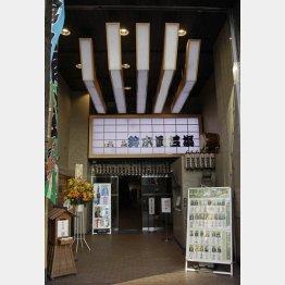 上野鈴本演芸場