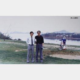 87年、北朝鮮でオープン10日前のゴルフ場でプレー