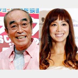 志村けんと優香は30歳差