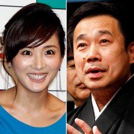 「下町ロケット」は高島彩(左)を、「あさが来た」は三宅裕司を投入