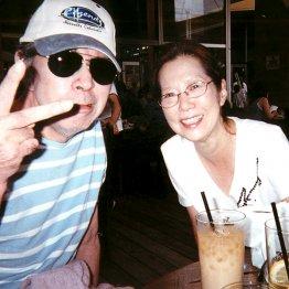 野坂さんと暘子夫人