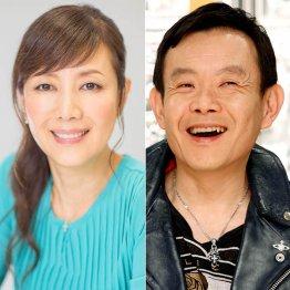 戸田恵子(左)と近藤芳正