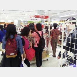 東京・銀座は中国人買い物客であふれているが…