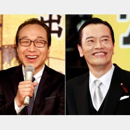 「ドラマが引き締まる」と評判の小日向文世(左)と遠藤憲一