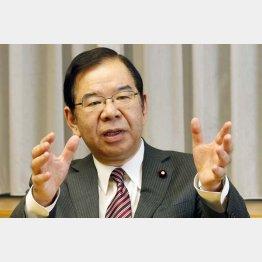 野党共闘を呼び掛ける志位和夫・共産党書記長