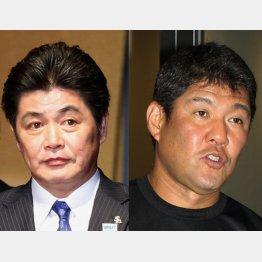 野球殿堂入りが決まった工藤公康氏(左)と斎藤雅樹氏