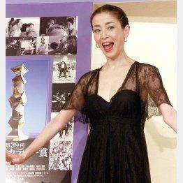 昨年は「紙の月」で最優秀主演女優賞を獲得