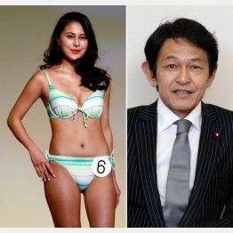松野未佳さんと父親の松野頼久「維新の党」代表