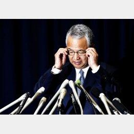 甘利大臣は辞任を表明したが