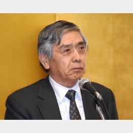 マイナス金利の導入を決定した黒田日銀総裁