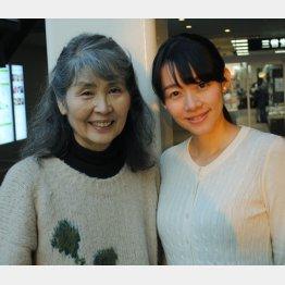 作曲家・田中未知さん(左)と橋本美香さん