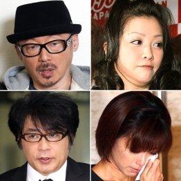 田代まさし、小向美奈子、酒井法子、ASKA