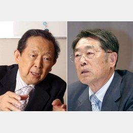 旧セゾングループの総帥・清二氏(左)と買っては世界の大富豪だった義明氏
