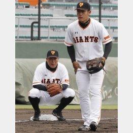 岡本(右)を見つめる村田は何を思う?