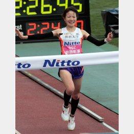 昨年の大会で日本女子歴代8位となる好タイムをマークした前田彩里(C)日刊ゲンダイ