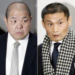 対立が激化する八角理事長(左)と貴乃花理事