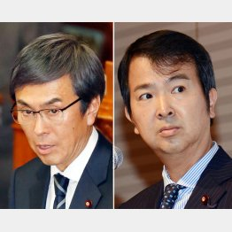 伸晃大臣に献金、宏高氏(右)は客員教授