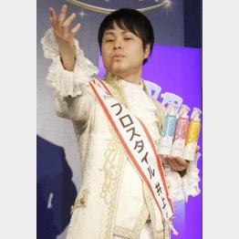 王子様風の衣装もサマになっている?