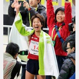 田中智美が日本人トップとなる2位でゴール