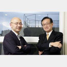 石井光太氏(左)と二木啓孝氏