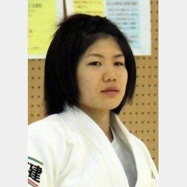 昨年の世界柔道女子52キロ級金メダルの中村美里