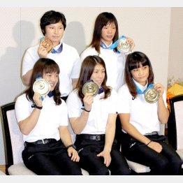 昨年の世界選手権ではメダル五個獲得