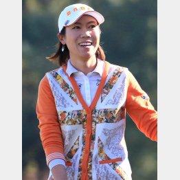 日本で勝つのは外国人選手ばかり(ヤマハレディースで優勝した季知姫)