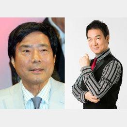 フリーになったときも大沢悠里氏(左)に励まされた
