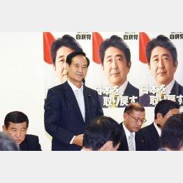 当時の自民党TPP対策委員会での西川公也委員長