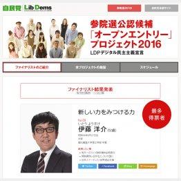 最多得票は作家の伊藤洋介氏