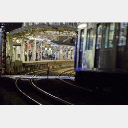 女子中学生2人が自殺した大井町線の荏原駅