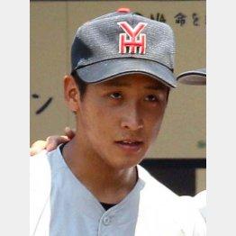 横浜高校の藤平は150キロの直球が武器