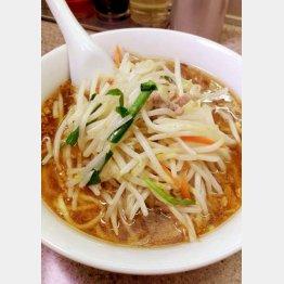 「中華麺店 喜楽」の『もやし麺』