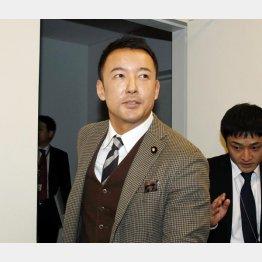 「生活の党と山本太郎となかまたち」の山本太郎氏