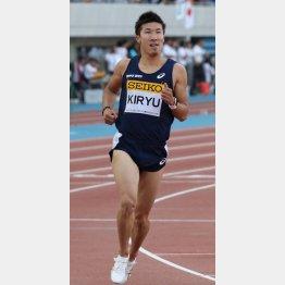 桐生は日本学生陸上競技個人選手権の100mに出場予定