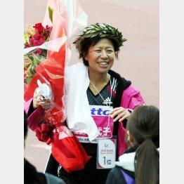 大阪国際女子マラソンでは好タイムで優勝