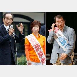 引退する副議長がバックアップ(左)と自民支持層の半分がソッポ