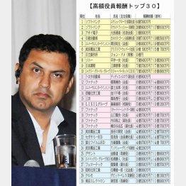 アローラ前ソフトバンク副社長は64億円!